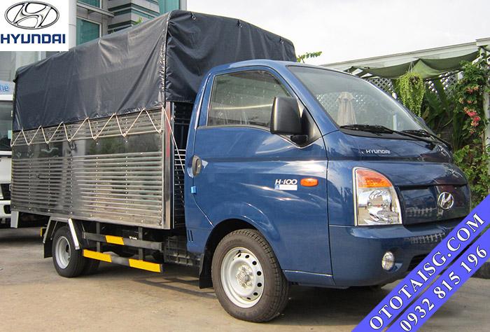 Hyundai H100 thùng mui phủ bạt 1 tấn giá rẻ,, hỗ trợ trả góp-ototaisg.com
