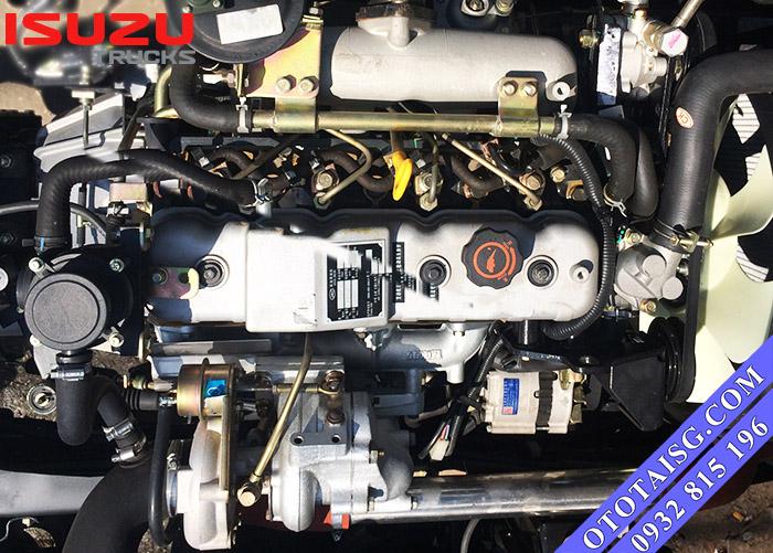 Động cơ HFC4DA1-1 công nghệ ISUZU Nhật Bản mạnh mẽ, phun nhiên liệu điện tử tiết kiệm-ototaisg.com
