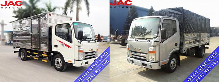 Xe tải Jac 3.45 tấn HFC 1042K2 công nghệ ISUZU chất lượng Nhật Bản giá thành thấp, hỗ trợ trả góp tại Ô TÔ TẢI SÀI GÒN-ototaisg.com