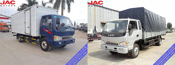 Xe tải JAC 5 tấn thùng lớn giá rẻ tại Ô TÔ TẢI SÀI GÒN-ototaisg.com