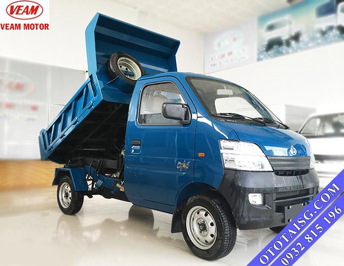 Xe ben Veam Star có thiết kế cabin Suzuki bắt mắt, cứng cáp và thân thiện-ototaisg.com
