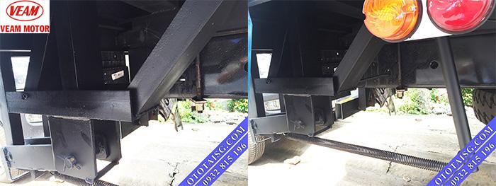 Hệ thống gia cố khung gầm xe tải có gắn bửng nâng hạ-ototaisg.com