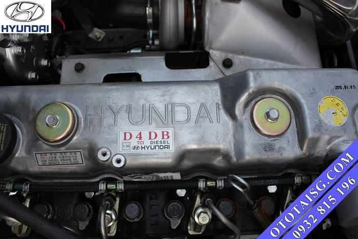 Động cơ Hyundai D4DB 4 lít nhập khẩu ga cơ có trang bị TURBO tăng áp-ototaisg.com