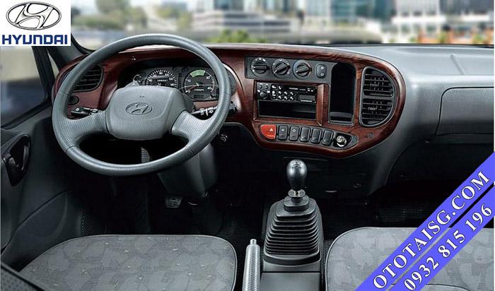 Cabin xe ben 3.5 tấn Hyundai HD72 được nhập nguyên từ Hàn Quốc bền bỉ, dễ sử dụng, full option-ototaisg.com