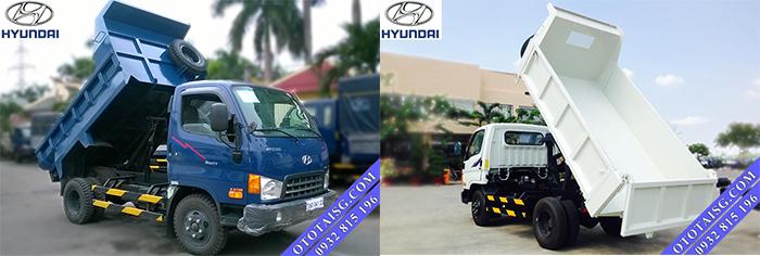 Xe ben Hyundai HD99 5 tấn lắp ráp DOTHANH giá thấp, hỗ trợ mua xe trả góp tại Ô Tô Tải Sìa Gòn-ototaisg.com