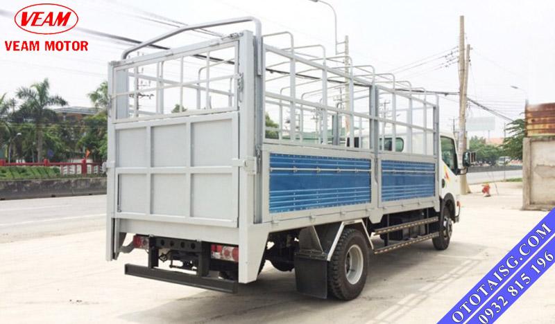 Xe tải Veam 2 tấn thùng mui bạt gắn bửng nâng giá rẻ-ototaisg.com