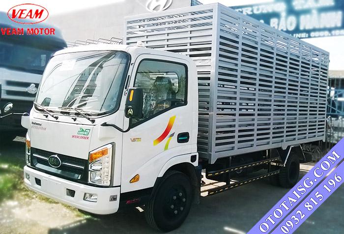 Xe tải Veam chở gia cầm, xe chở gà vịt giá cực rẻ đóng tại Ô TÔ TẢI SÀI GÒN, hỗ trợ mua xe trả góp-ototaisg.com