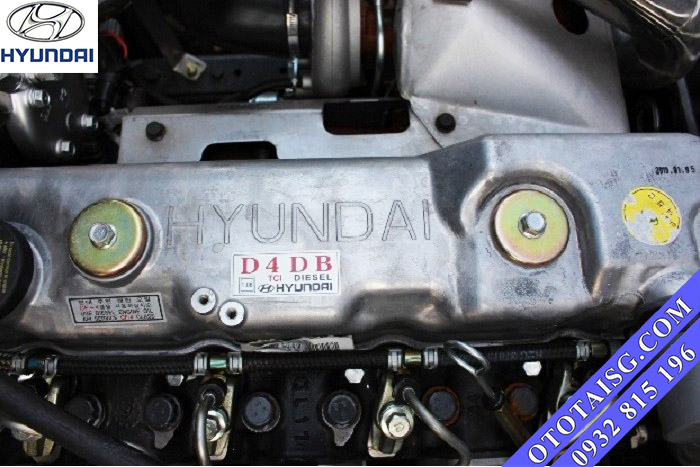 Động cơ Hyundai D4DB ga cơ, nhập nguyên zin từ Hàn Quốc, tiết kiệm nhiên liệu-ototaisg.com