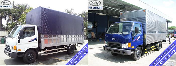 Xe tải Hyundai 8 tấn nâng tải HD120s, giá thành thấp, nhập 3 cục, hỗ trợ mua xe trả góp-ototaisg.com