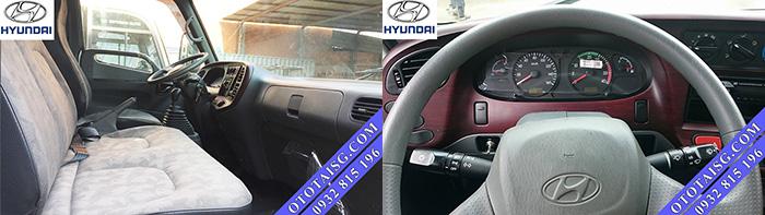 Xe HD99 6.5 tấn DOTHANH nhập khẩu cabin Hyundai, tiện nghi, full option, sang trọng, giá rẻ-ototaisg.com