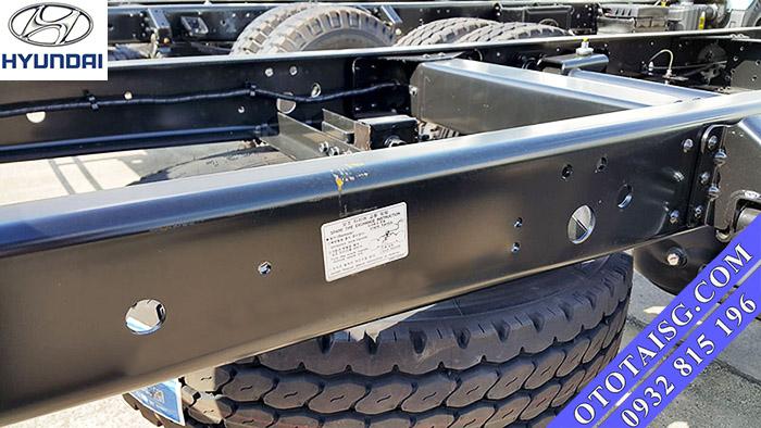 Chassis xe Hyundai HD99 được nhập khẩu từ Hyundai HD72-ototaisg.com