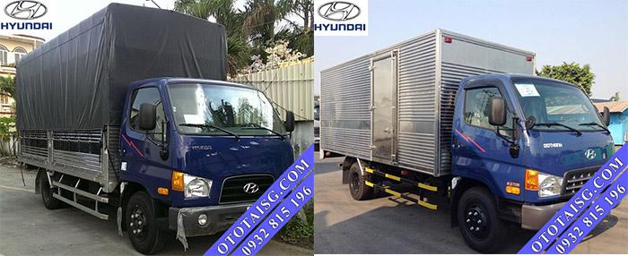 Xe tải Hyundai HD99 6T5 nâng tải, giá thành thấp, hỗ trợ mua xe trả góp đến 80% tại Ô TÔ TẢI SÀI GÒN-ototaisg.com