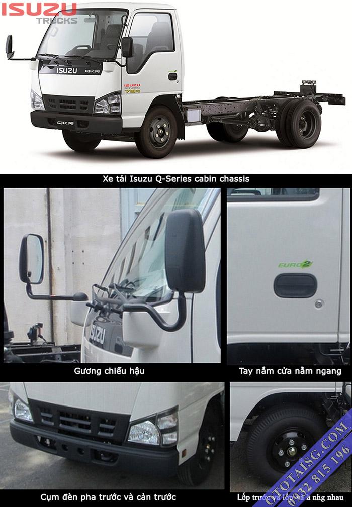 Xe tải 1.4 Isuzu được nhập khẩu 3 cục nên chất lượng rất bền, các trang thiết bị đầy đủ, dễ sử dụng-ototaisg.com