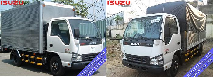 Xe tải nhẹ Isuzu QKR55F tải 1T4 thùng lớn giá thấp bán trả góp tại Ô TÔ TẢI SÀI GÒN-ototaisg.com