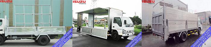 Xe tải đóng thùng chuyên dùng giá rẻ có giấy ngay như xe bửng nâng, thùng cánh dơi bán hàng lưu động, xe chở kính-ototaisg.com