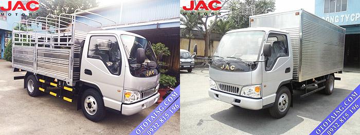 Xe tải Jac 2.4 tấn động cơ công nghệ Isuzu giá rẻ, hỗ trợ trả góp đến 70%-ototaisg.com